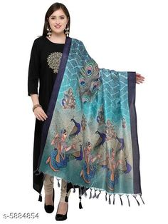 Checkout this latest Dupattas Product Name: *Stylish Women's Dupatta* Sizes:Free Size (Length Size: 2.3 m)  Country of Origin: India Easy Returns Available In Case Of Any Issue   Catalog Rating: ★3.9 (384)  Catalog Name: Classy Stylish Women Dupattas CatalogID_888617 C74-SC1006 Code: 343-5884854-228