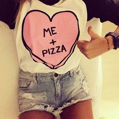 Pizza, how are you so delicious? Follow us on Instagram! ❤ @ASAPSkinnyOfficial