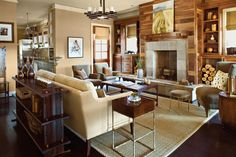 Southern Traditional Living Room Luxury Use Unexpected Materials 106 Living Room Decorating Ideas southern Living Classy Living Room, Formal Living Rooms, Dining Rooms, Salon Simple, Living Room Designs, Living Room Decor, Living Area, Casual Family Rooms, Design Salon
