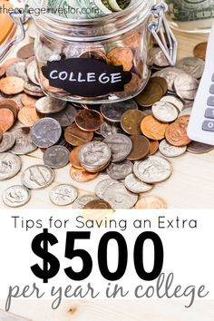 Living the college life means running on a tight budget. Here are some tips for saving money in college that will help your stretch your dollars further.
