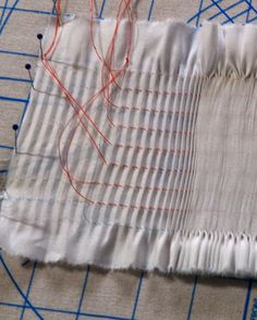 "Folk Embroidery Tutorial Ney Ney's Nest: ""Spring Smock-Along""-Picture Smocking Part 1 Smocking Baby, Smocking Plates, Smocking Patterns, Baby Clothes Patterns, Sewing Patterns For Kids, Dress Sewing Patterns, Skirt Patterns, Coat Patterns, Blouse Patterns"