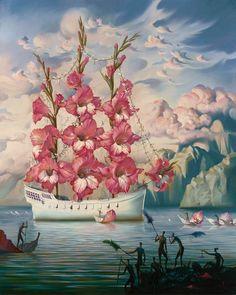 Russian Salvador Dali: Surrealistic paintings by Vladimir Kush - 43