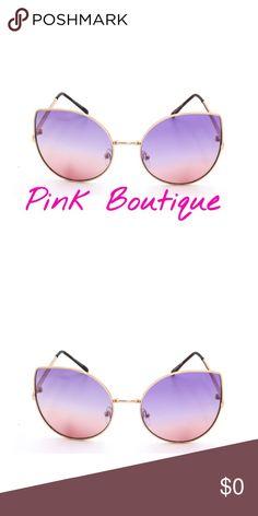 🍂COMING SOON Classic Aviator Style Sunglasses 🍂Classic Aviator Style Sunglasses . #MetalSunglasses #FlatLens. Color : Purple Accessories Sunglasses