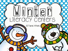 Little Minds at Work: Winter Literacy Centers
