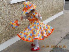 Twirly Dress      Farbenmix Elodie Dress Pattern, Ottobre Hat Pattern