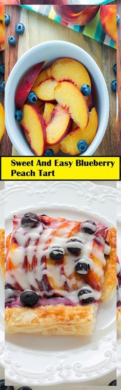 Sweet And Easy Blueberry Peach Tart Egg Noodle Recipes, Canadian Food, French Desserts, Ground Beef Recipes, Chocolate Chips, Casserole Recipes, Hot Dog Buns, Easy Dinner Recipes, Food Dishes