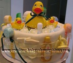 Unique Baby Shower Ideas | Ducky and Baby Duckie baby shower themes - each with it's own unique ...