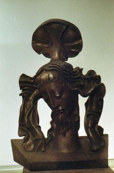 Cry, 69x52x26, bronze, 1969-1995