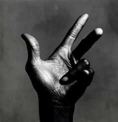 Phillips de Pury & Company: IRVING PENN, The Hand of Miles Davis (B), New York
