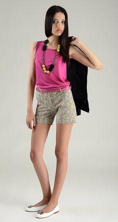 Hartford flower shorts