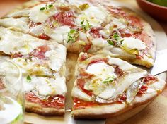 Pizza met witloof