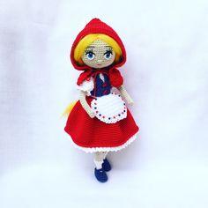 #scufitarosie #краснояшапочка #рукоделие #14 #littleredridinghood #doll #crochetdoll #amigurumidoll #handmadedoll