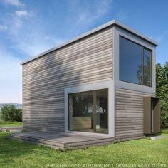 Container pinterest kleines for Minihaus bausatz