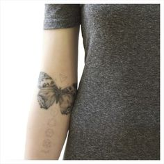 Image of NATURE GIRL The Natural Balance Temporary Tattoo Set - Butterflies