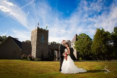Make your dreams of a fairytale wedding in a castle setting a reality at Castle Pines Farm - Home of Chestershire Castle.  Outdoor Event Venue, Luray, TN castlepinesfarm.com #castlepinestn