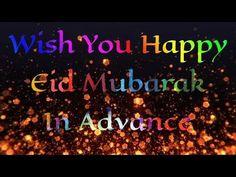 Eid Mubarak in advance Eid Mubarak Gif, Eid Mubarak Status, Happy Eid Mubarak, F Names, Muslim Pictures, Happy Birthday Quotes, Love Status, Are You Happy, Youtube