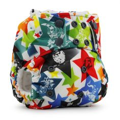 Rumparooz One Size Cloth Diapers - Dragons Fly