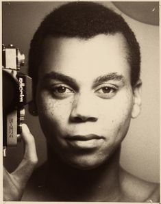 a very young Ru Paul