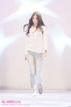 APink NaEun @ Rehearsal of Korean Traditional Dress 'HanBok' Show