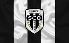 Lataa kuva Angers SCO, Football club, Angers tunnus, logo, Ranska, Ligue 1, Jalkapallo