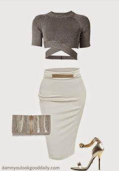 Damn You Look Good Daily A fashion and style blog: Kim Kardashian Style Club Outfit Idea