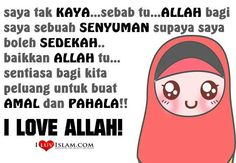 Senyum itu sedekah I Muslim, Allah, Best Quotes, Sayings, My Love, Itu, Deen, Fictional Characters, Wallpaper