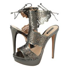 Smisby - Schutz Women's sandals made of leather with synthetic lining, leather outsole and a heel height of cm. Available in color Gold and Gun Silver. High Heels, Women's Sandals, Online Shopping, Leather, Passion, Shoes, Color, Silver, Zapatos
