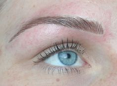hair stroke permanent eyebrow - Google Search                              …
