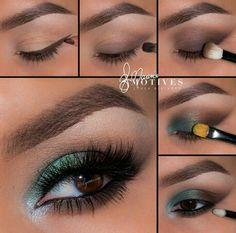 Eye Makeup Tips – How To Apply Eyeliner – Makeup Design Ideas Makeup Goals, Makeup Tips, Eyeshadow Makeup, Eyeliner, Eye Makeup Pictures, Prom Makeup Tutorial, Eye Makeup Steps, Makeup For Green Eyes, Looks Chic