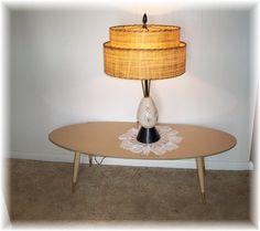 Atomic Era Pink North Star Table LAMP Light by MrsRekamepip, $175.00  SOLD!