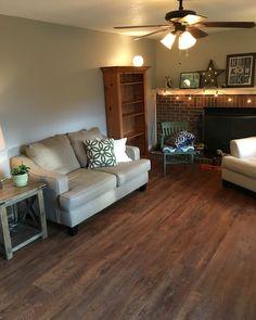 IVC Castle Oak 55465 click and lock. Vinyl Plank Flooring, Luxury Vinyl Plank, Building A New Home, Flooring Ideas, Kitchen Remodeling, Floors, Tile Floor, Kitchen Ideas, Bedroom Ideas
