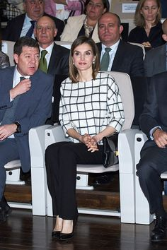 Queen Letizia of Spain attends the Red Cross World Day Commemoration at the Palacio de Congresos auditorium on May 09, 2016 in Albacete, Spain.