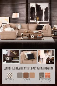 Create a vibrant and beautiful home with the right colors and textures! Start with our versatile Soho Collection.