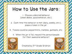 Classroom DIY: DIY Incentive-Reward Jars
