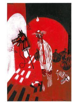 El Quijote según Santiago Sequeiros.