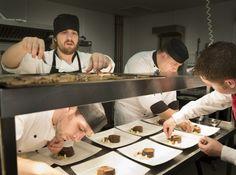 #YorkshireLife #Luncheon at Cedar Court Grand Hotel, #York. #Chefs Alan Broome, Jamie Hall, head chef Martin Henley pictured.