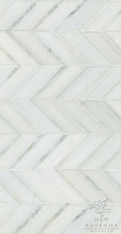 "NEW RAVENNA Name: Raj Product Number: CB1112RTSPWCLR (12""x24"") Description: Raj shown in Paperwhite honed and Calacatta..."