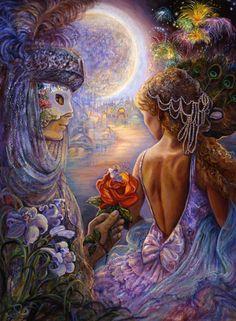 El Arte de la Imaginación        Josephine Wall  es una artista inglesa, considerada como la artista de la fantasía . Sus pinturas tienen u...