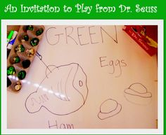 The Good Long Road: {Virtual Book Club for Kids} Move, Eat, Draw, Learn with Green Eggs and Ham by Dr. Seuss