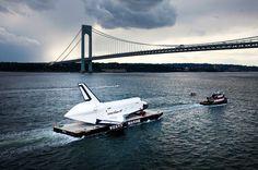Enterprise on the river