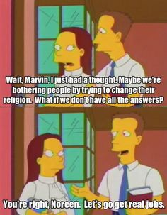 Sometimes I wish life were more like the Simpsons