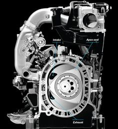 How It Works: the Mazda Rotary Engine (With Video!) - Popular Mechanics #Mazda #RX8 #Rvinyl