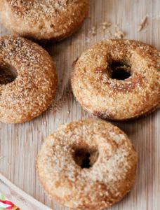 Vanilla Cardamom Cake Donuts - Paleo Recipe Site