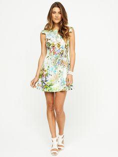 Violet Floral Dress | Portmans