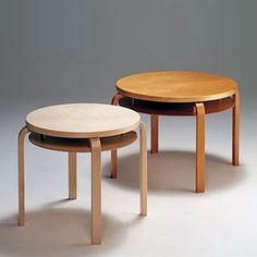Alvar Aalto Double Coffee Table 907 - Although it has not been in production since the the elegant low birch table with its clever magazine shelf fits easily into contemporary homes, foyers or lounge areas. Alvar Aalto, Wood Furniture, Furniture Design, Scandi Style, Lounge Areas, Decoration, Contemporary, Coffee, Home Decor