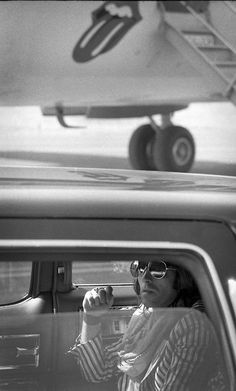 Keith Richards, Rolling Stones private jet.