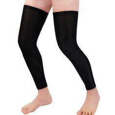 WOSAWE Outdoor Sport Bike Bicycle Leg Warmer Thermal Winter Guard Knee Running Sleeves Cycling Leg  Sunscreen Cover Pair