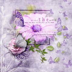 """BUTTERFLY KISSES"" Bundle by The Urban Fairy available @ Digital Scrapbooking Studio https://www.digitalscrapbookingstudio.com/digital-art/bundled-deals/butterfly-kisses-bundle/ Photo by Pixabay - no attribution required https://pixabay.com/"