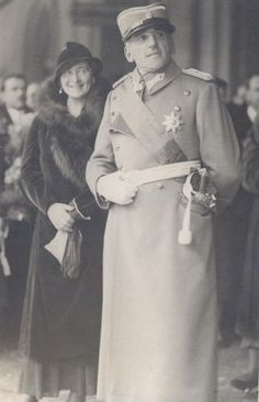 Alexander I of Yugoslavia and Maria of Yugoslavia 1933.  Alexander was unique in having no western European (German) ancestry.  His ancestors were from Serbia and Montenegro (Albania).  But Alexander married Princess Marie of Romania, a descendant of the royal families of Prussia, Portugal, Hungary, Austria, Brazil, the United Kingdom, and Russia.