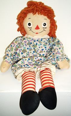 Raggedy Ann is a classic This was my first doll...My grandmother gave it to me on my 2nd birthday...60 years ago.